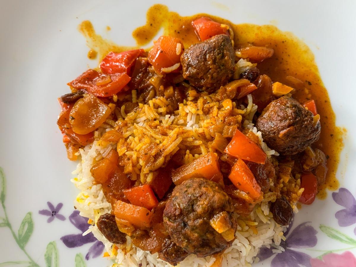 Recipe: Spicy vegan 'meatball' stew